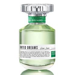 Benetton - Perfume Benetton United Dreams Live Free Mujer 50 ml EDT