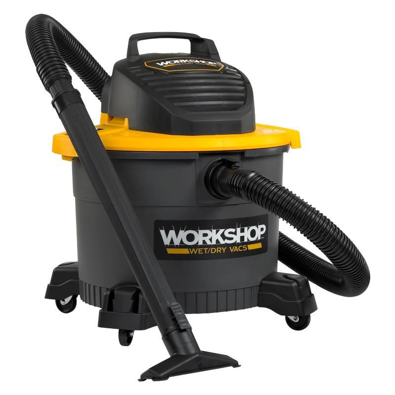 Workshop - Aspiradora de arrastre Workshop de 34 lt polvo y líquido