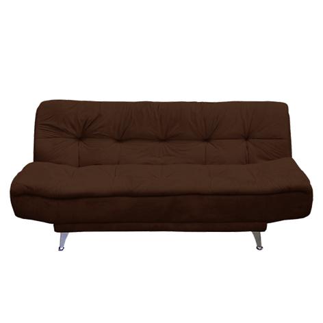 Mica sof cama blu tela for Sofa cama 2 plazas falabella
