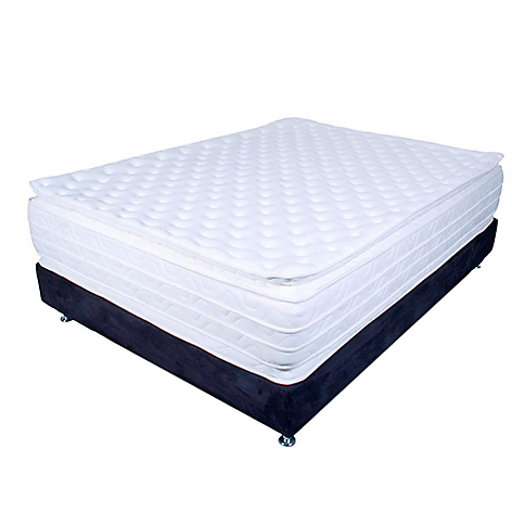 Paraiso combo colch n munich doble cara king base for Cama king paraiso