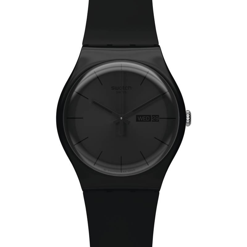 Swatch - Reloj Hombre Swatch Black Rebel SUOB702