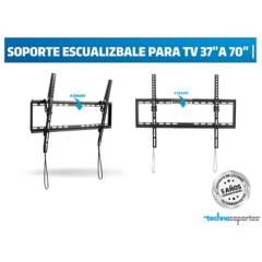 """Technosoportes - Soporte Escualizable para TV de 37"""" a 70"""""""