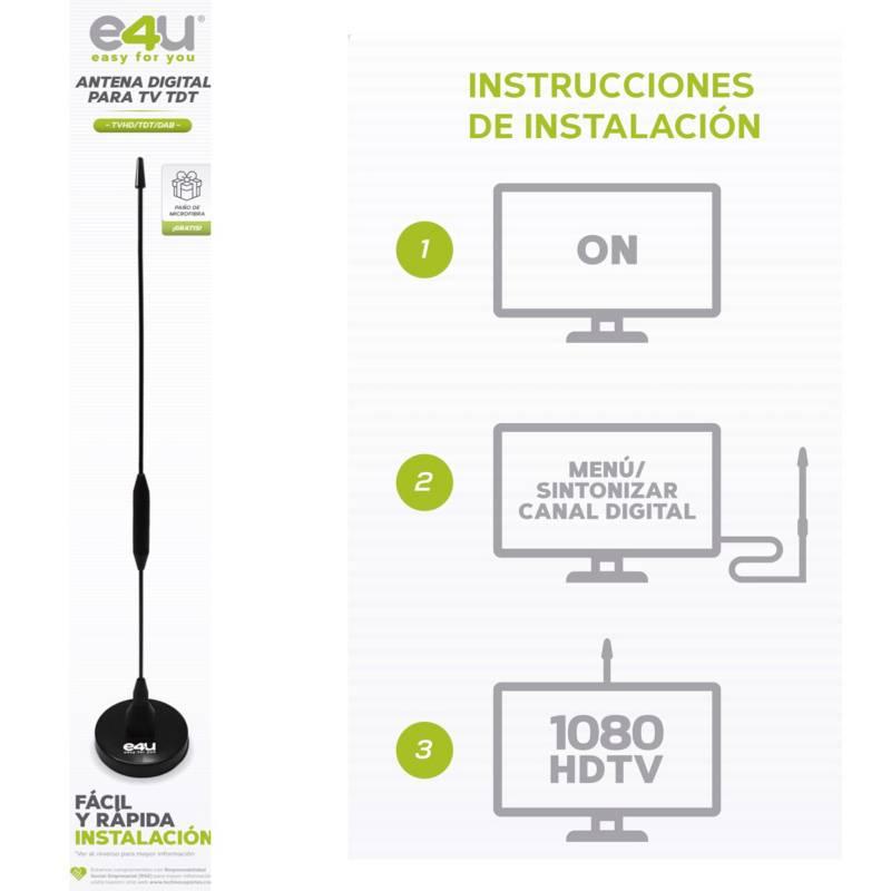 Technosoportes - Antena para TDT HD