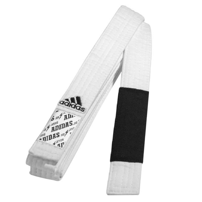 Adidas - Cinturón Ju Jitsu A1 Blanco con Negro