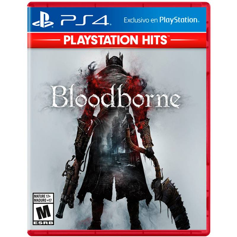PlayStation 4 - Videojuego Bloodborne para PlayStation 4