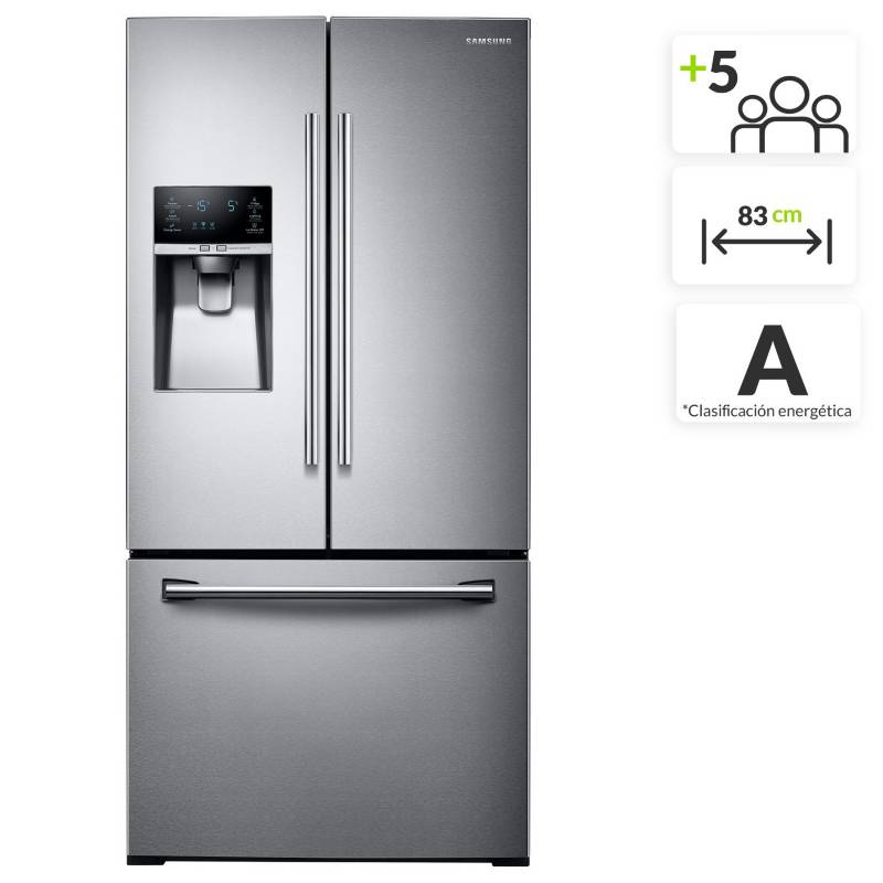 Samsung - Nevecón Samsung French Door 580 lt RF26J7500SL