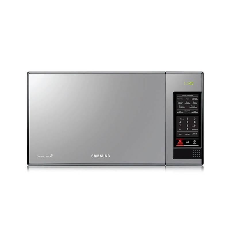 Samsung - Horno Microondas Dorador Samsung 40 lt MG402MADXBB/AP