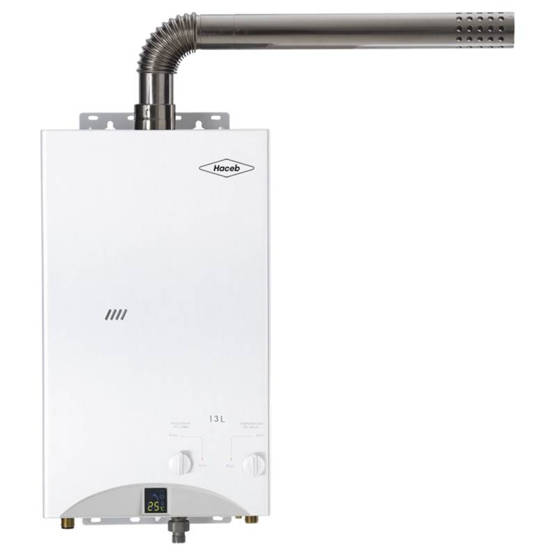 Haceb - Calentador de Agua a Gas 13 lt | CPG-13TF