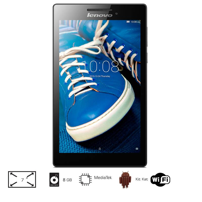 Lenovo - Tablet 7 pulgadas 8GB Wi-Fi | A720