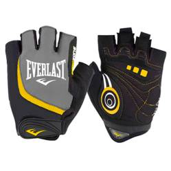 Everlast - Guantes ergo color negro