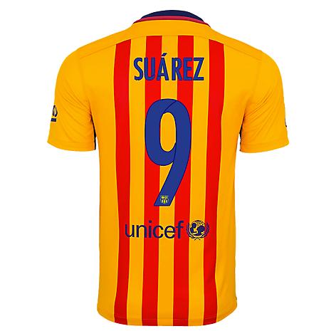 0ca9d1008a4e8 Nike Camiseta FC Barcelona visitante Suarez - Falabella.com
