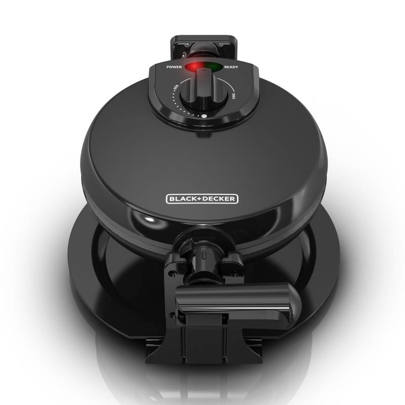 Black&Decker - Waflera Giratoria Black&Decker Antiadherente