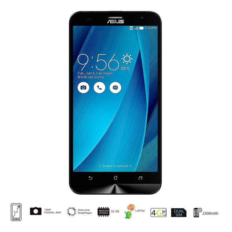 Asus - ZenFone 2 Laser Celular Libre