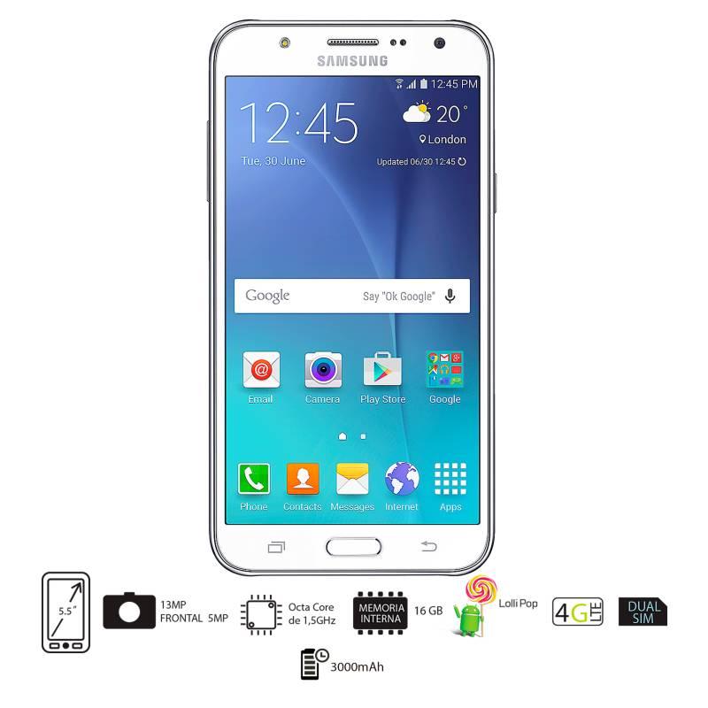 Samsung - Galaxy J7 DS Blanco Celular Libre