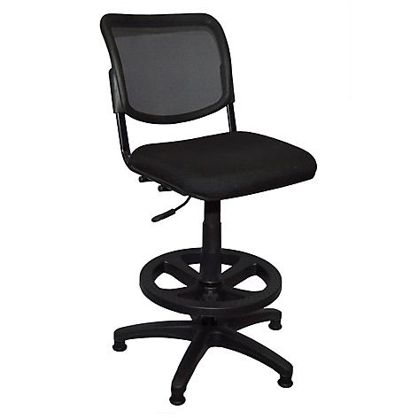Mica silla dibujante iso malla sin brazos - Silla oficina alta ...