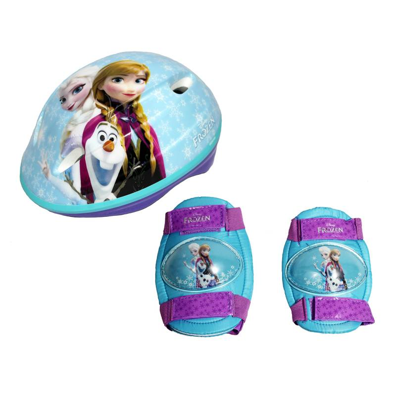 Frozen - Set Casco Protección Frozen TM (55cm a 57cm)