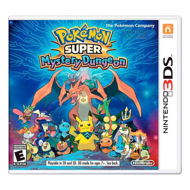 Nintendo - Videojuego Pokémon Super Mystery