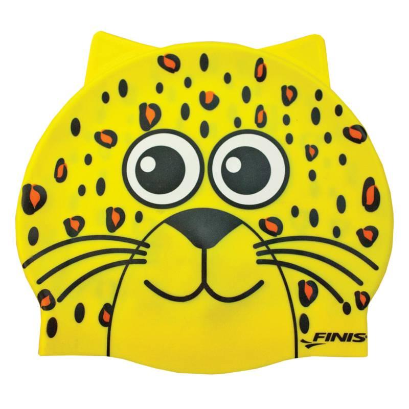 Finis - Gorro silicona animales leopardo