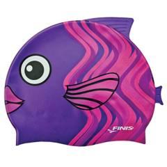 Finis - Gorro silicona animales pez coral rosa