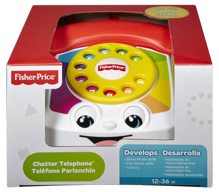 Fisher Price - Teléfono Parlanchín