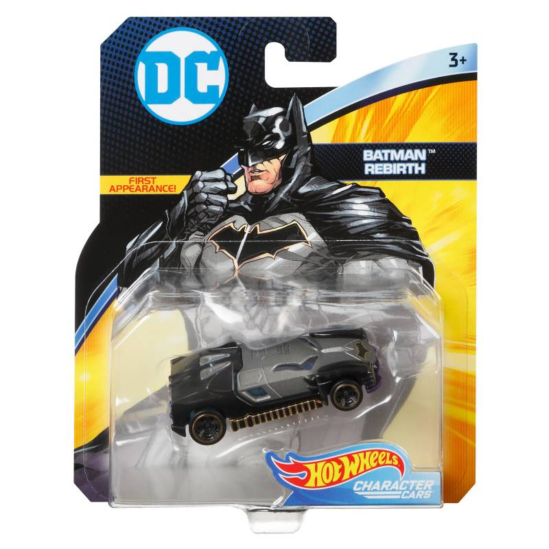 Hot wheels - Autos Dc Universe Personificados