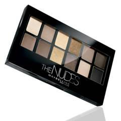 Maybelline - Paleta de Sombras Maybelline la Palette Eye Studio The Nudes