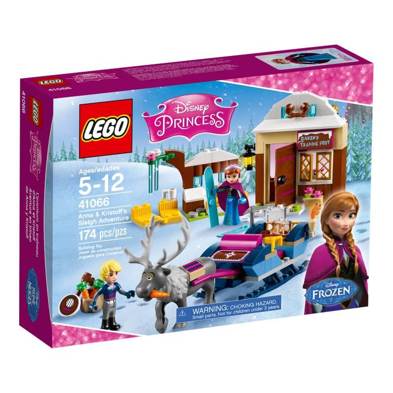 Lego - Lego Duplo Aventura Trineo Anna y Kristoff