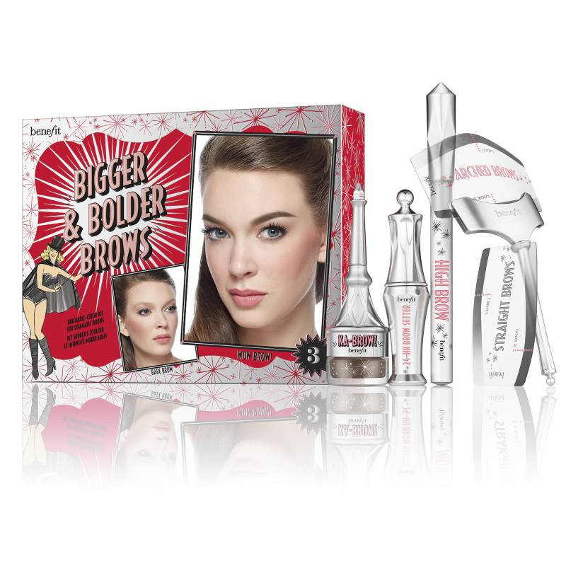 Benefit - Kit de Cejas Dramáticas Bigger & Bolder Brows