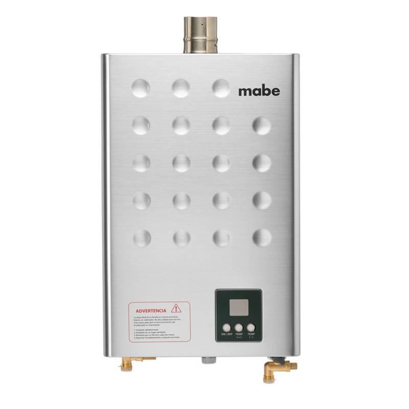 Mabe - Calentador de Tiro Forzado 16Lts Gris