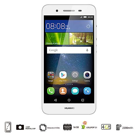 2d5ed0ab8fc6 Huawei GR3 Tango Dual LTE Celular Libre Plateado - Falabella.com