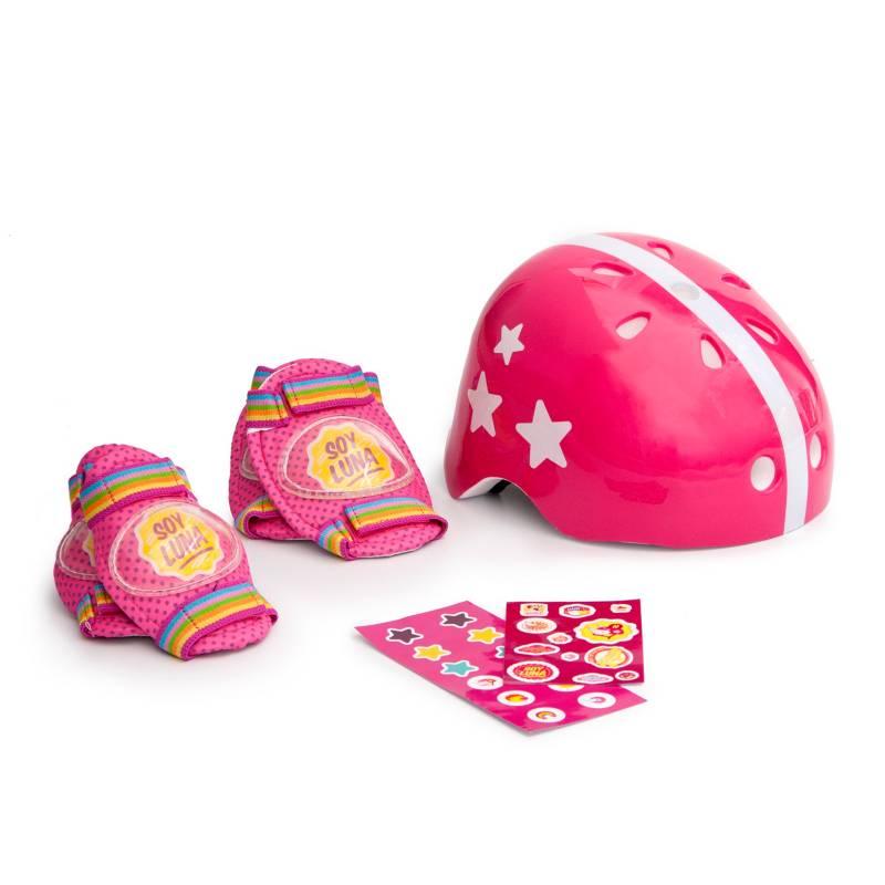 Soy Luna - Set casco + proteccion soy luna