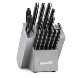 Set de Cuchillos 16 Pzs en Acero Inoxidable