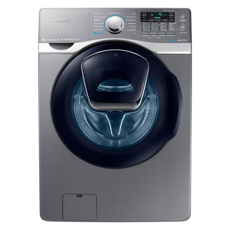 Samsung - Lavadora/Secadora Samsung Inverter 18 kg
