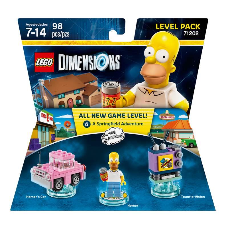 Warner - Lego Dimensions Simpsons Level Pack