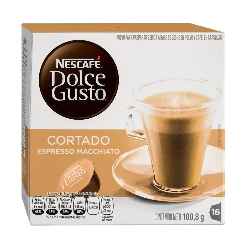 Dolce Gusto - Cápsulas de Café Cortado Espresso