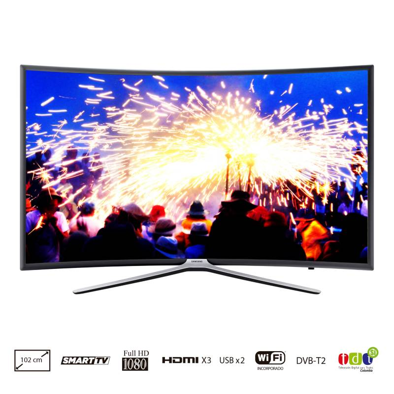 "Samsung - LED 40"" FHD SmartTV Curvo | UN40K6500"