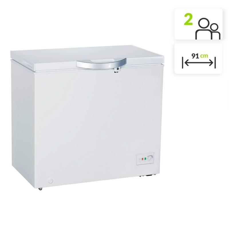 Electrolux - Congelador Horizontal Electrolux EFCC20C3HQW 200 lt