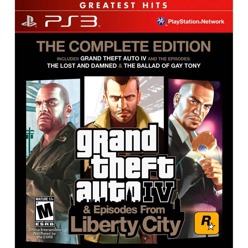 Rockstar Games - Videojuego Grand Theft Auto IV: The Complete Edition