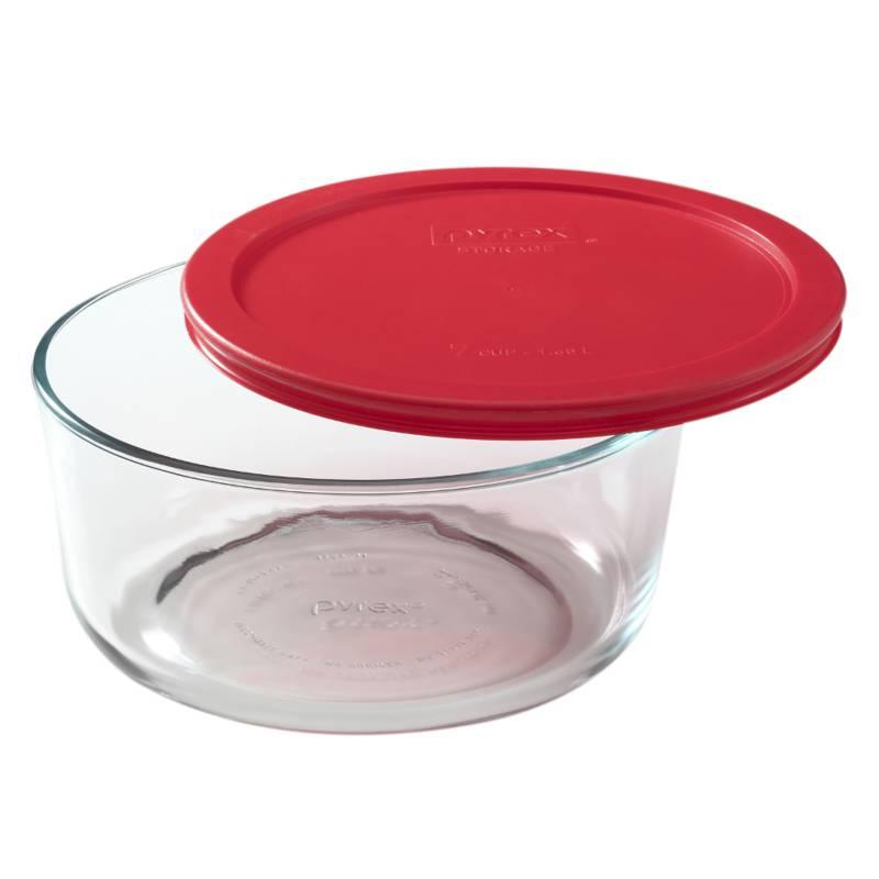 Pyrex - Bowl 2 Tazas 470 ml Rojo