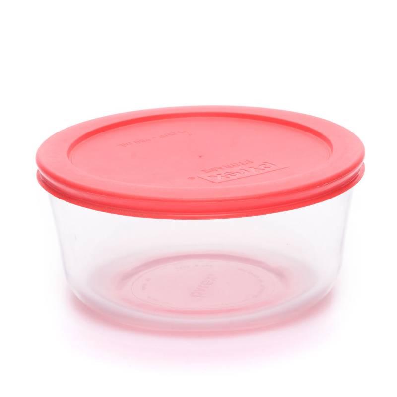Pyrex - Bowl 950 ml Rojo