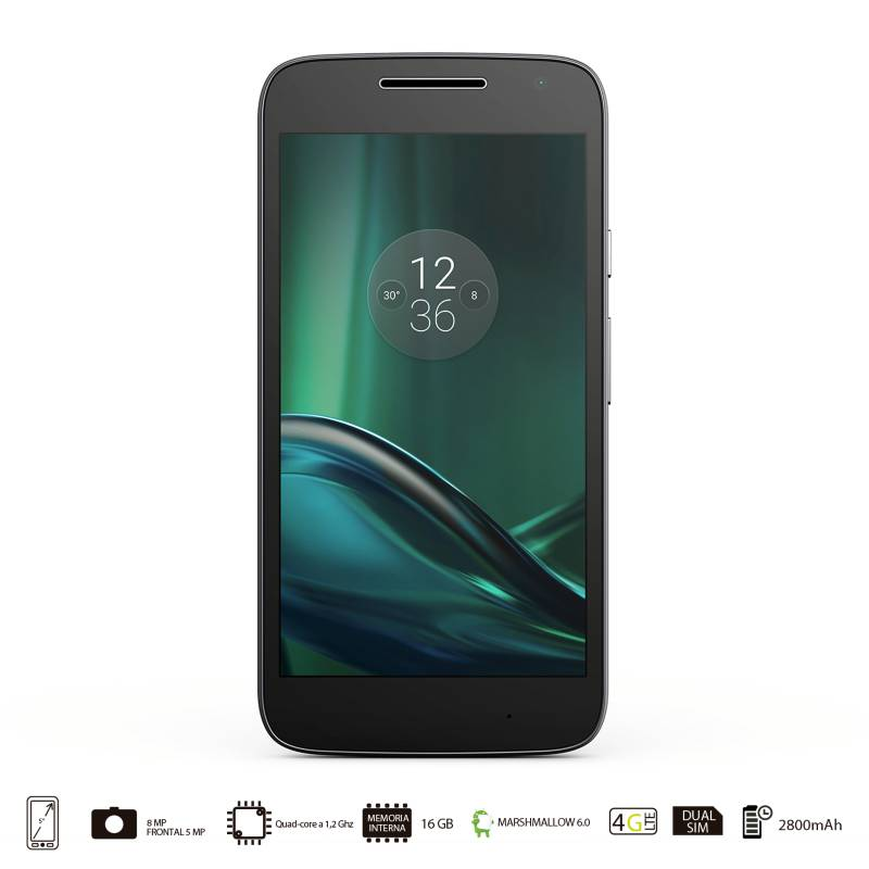 Motorola - Moto G4 Play Negro Celular Libre