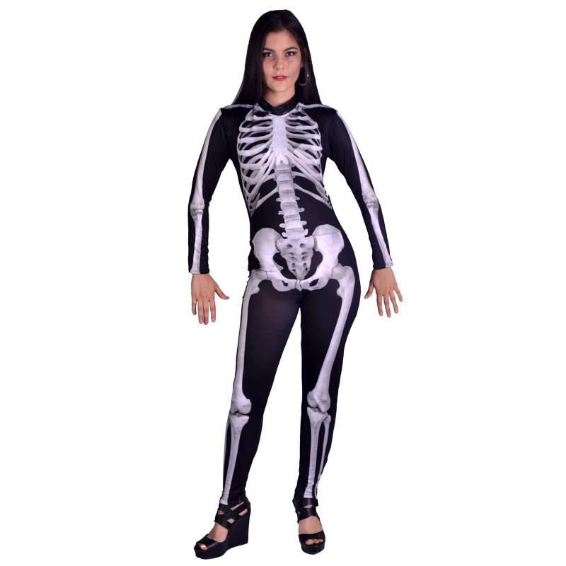 Fantastic Night - Disfraz Sexy Esqueleto