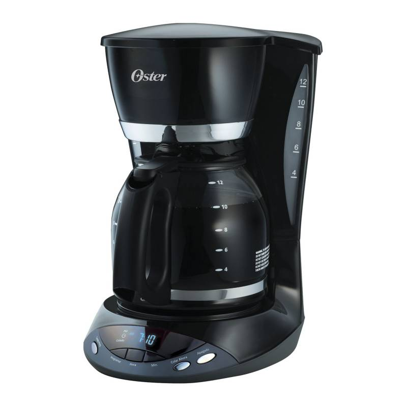 Oster - Cafetera 12 Tazas Programable BVSTDCDWX20B013