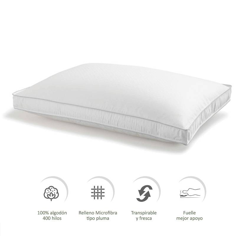 Basement Home - Almohada Silk Premium 90 x 50 cm