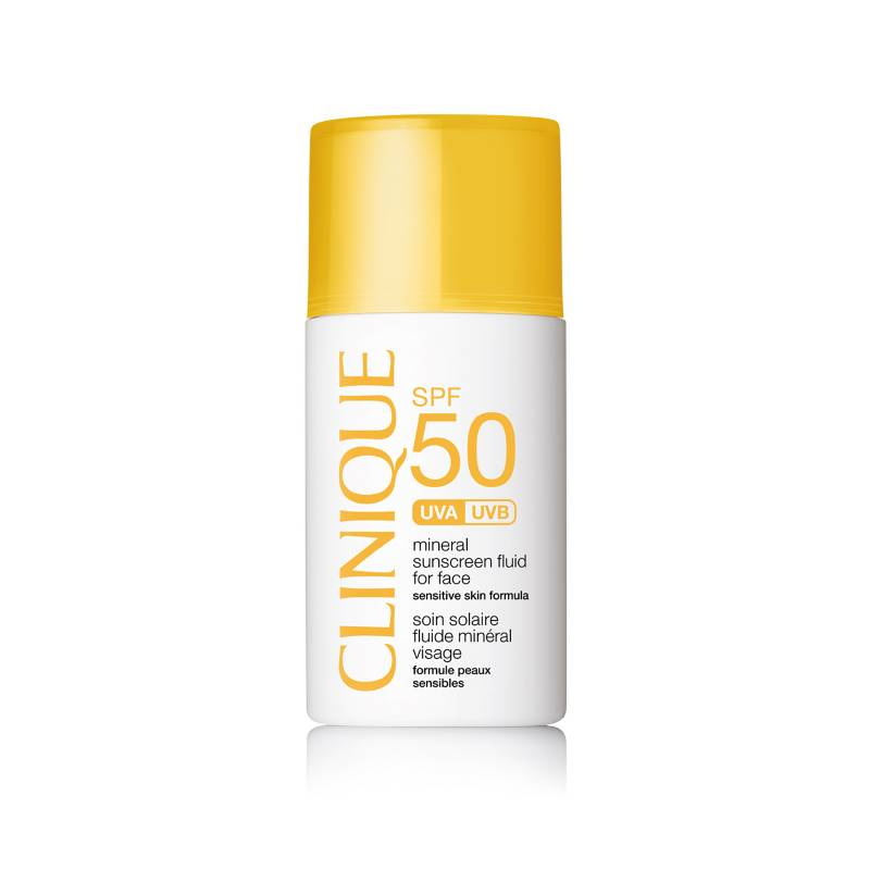 Clinique - Protector Solares SPF 50 Mineral Sunscreen Fluid for Face