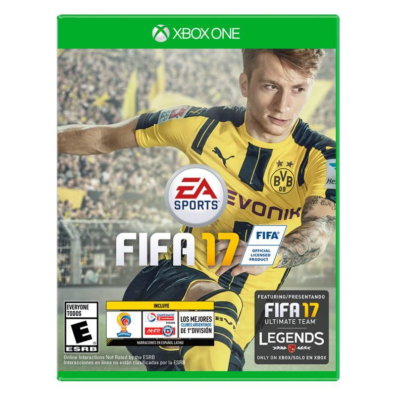 EA Sports - Videojuego FIFA 17 Edición Estándar