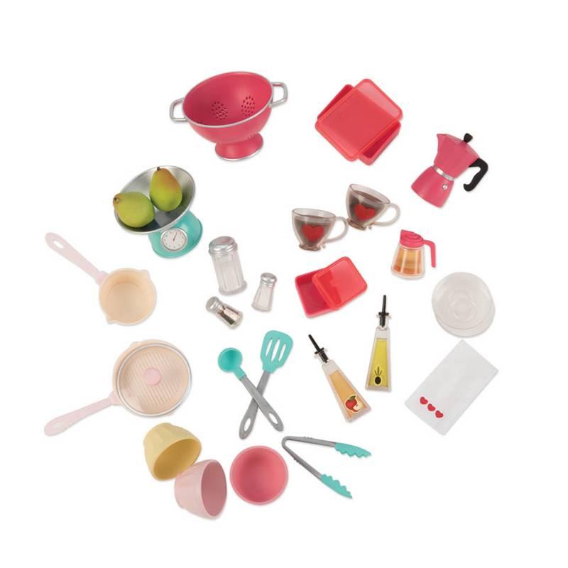 Our Generation - Set de Accesorios para la Cocina