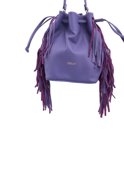 Tatiana Luna - Cartera de hombro Lilac Roller Mini