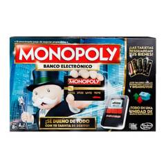 Hasbro Games - Juego de Mesa Monopoly Banco Electronico