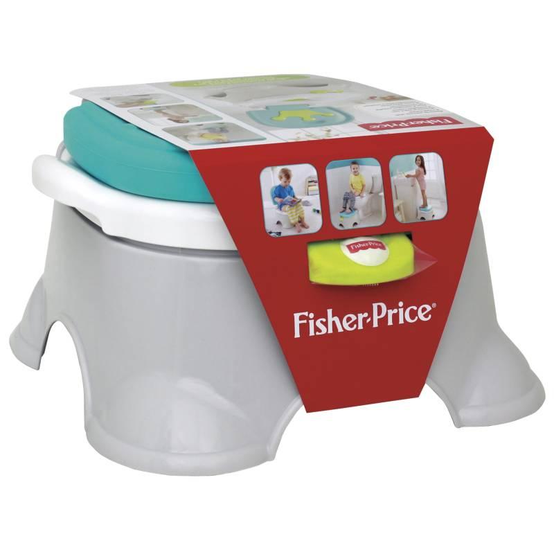 Fisher Price - Silla Entrenteción Royal Potty 3 en 1